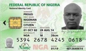 Nigeria national identity card by mimc