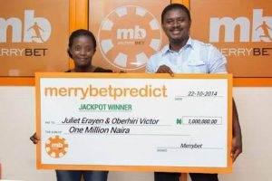 Merrybet winner