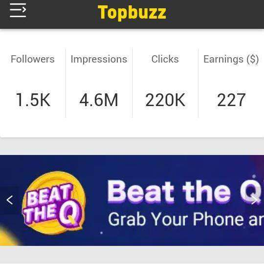 HOW TO MAKE MONEY FROM AUTO TRAFFIC TOPBUZZ FOR POSTINGS ARTICLE, VIDEO PER DAY( YOUTUBE ALTERNATIVE)