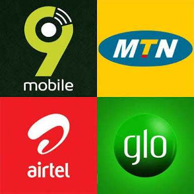 Mtn glo Airtel and Etisalat Nigeria mobile data