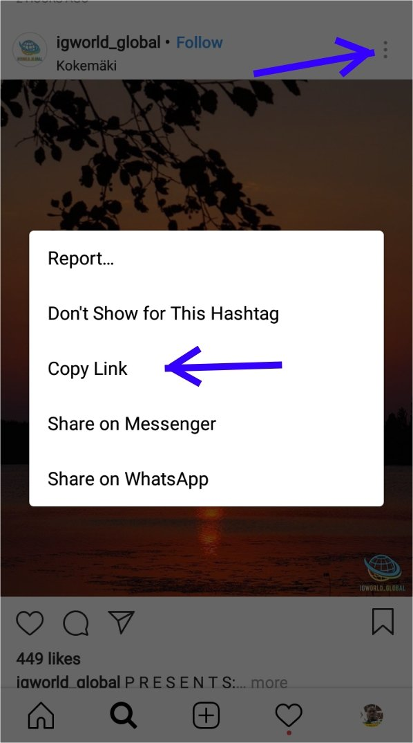 How to download from Instagram