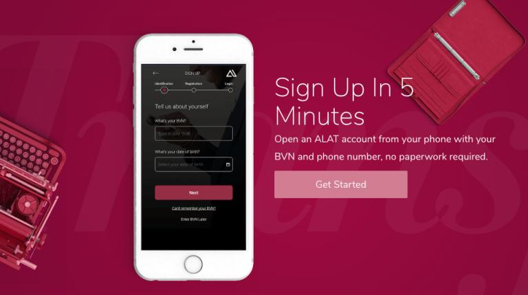 ALAT - Nigeria's first fully Digital Bank