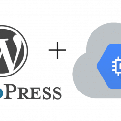 Google cloud platform on wordpress