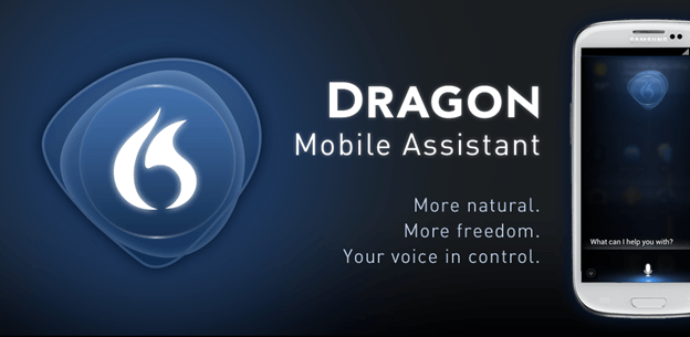 Dragon mobile assistant apps