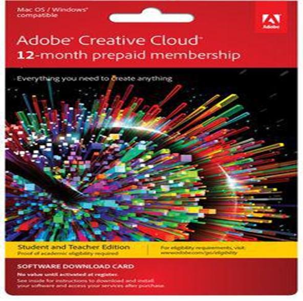Adobe Creative Cloud Christmas gift ideas