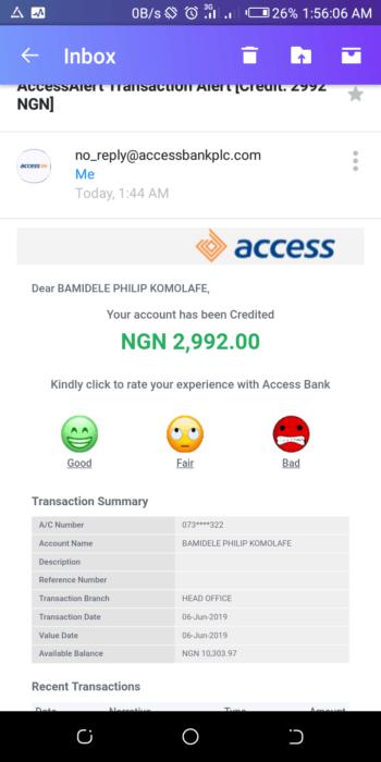 Gomoney Nigeria Review