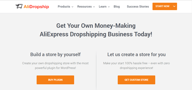 Start WooCommerce dropshipping