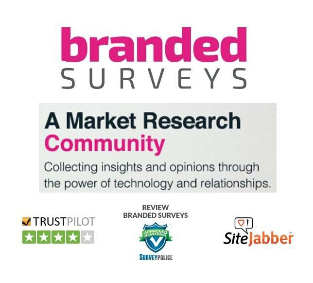 Branded Surveys earn PayPal Gift Card