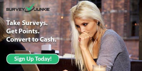 Survey Junkie earn PayPal