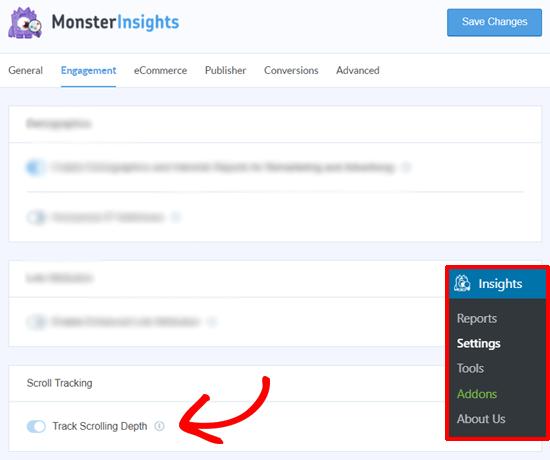 MonsterInsights Scroll Depth Reviews