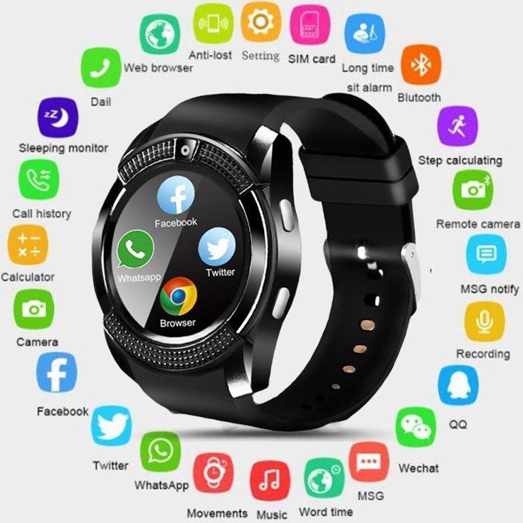 Smart Watch Best Mobile Phone Accessories