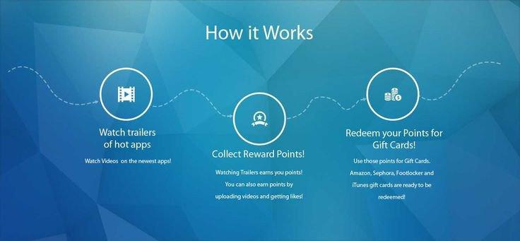 App trailer earn free Amazon Gift Card