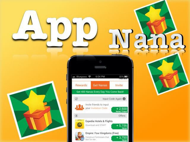 App Nana free gift cards