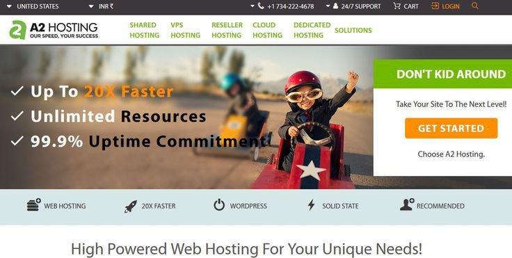 A2 hosting cloud hosting