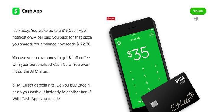 Cash for app