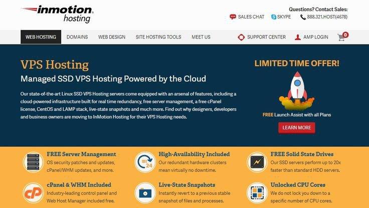Inmotion hosting free domain