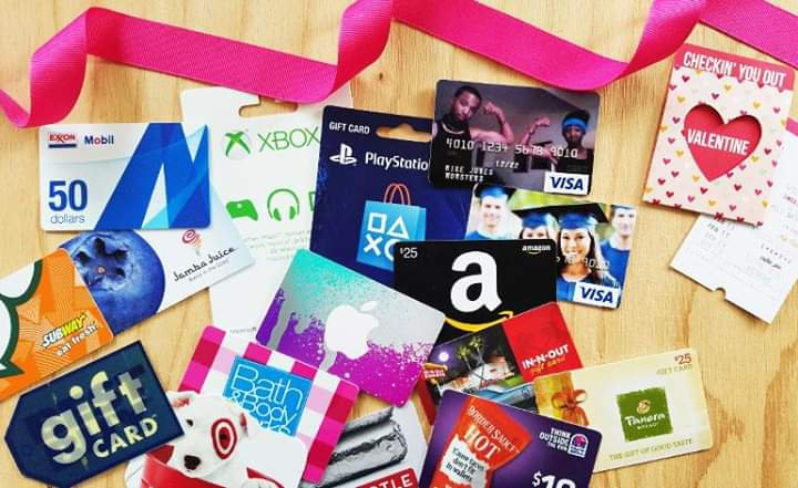 10 Popular Gift cards brands and coupons