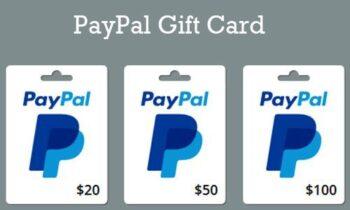 2020 PayPal gift card generator