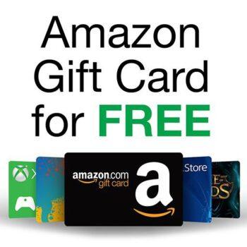Amazon Gift Cards free