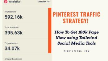 Pinterest Traffic Strategy using Tailwind Tool