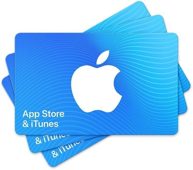 iTunes Gift card how to