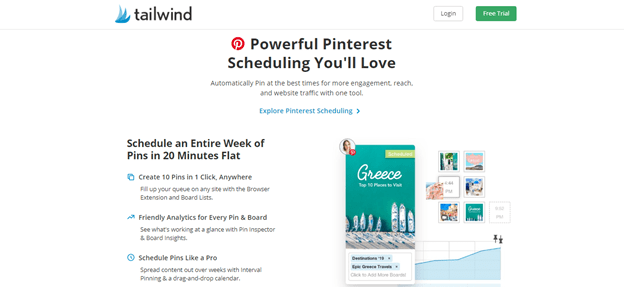 Tailwind Tribes App for Pinterest