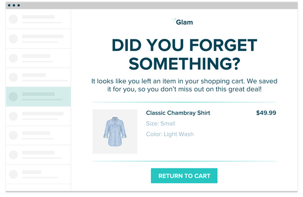 10 Abandonment Cart Emails Templates