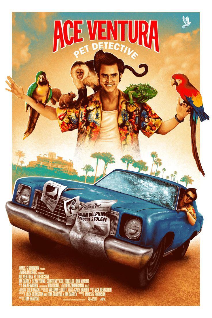 Ace Ventura: Pet Detective (1994) 90's Comedy Movies