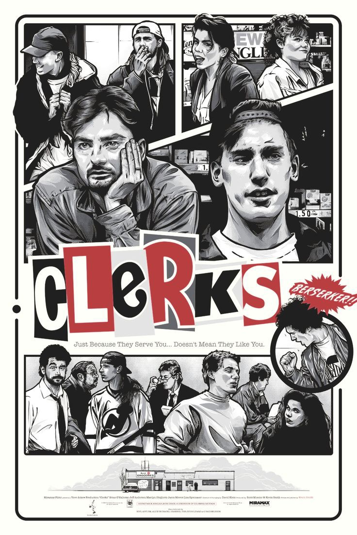 Clerks (1994)   90's Comedy Movies
