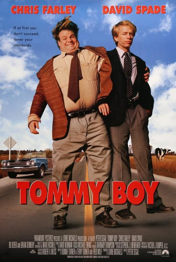 Tommy Boy (1995)   90's Comedy Movies