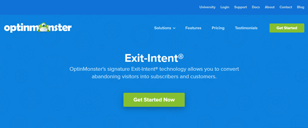 Mobile Exit Intent