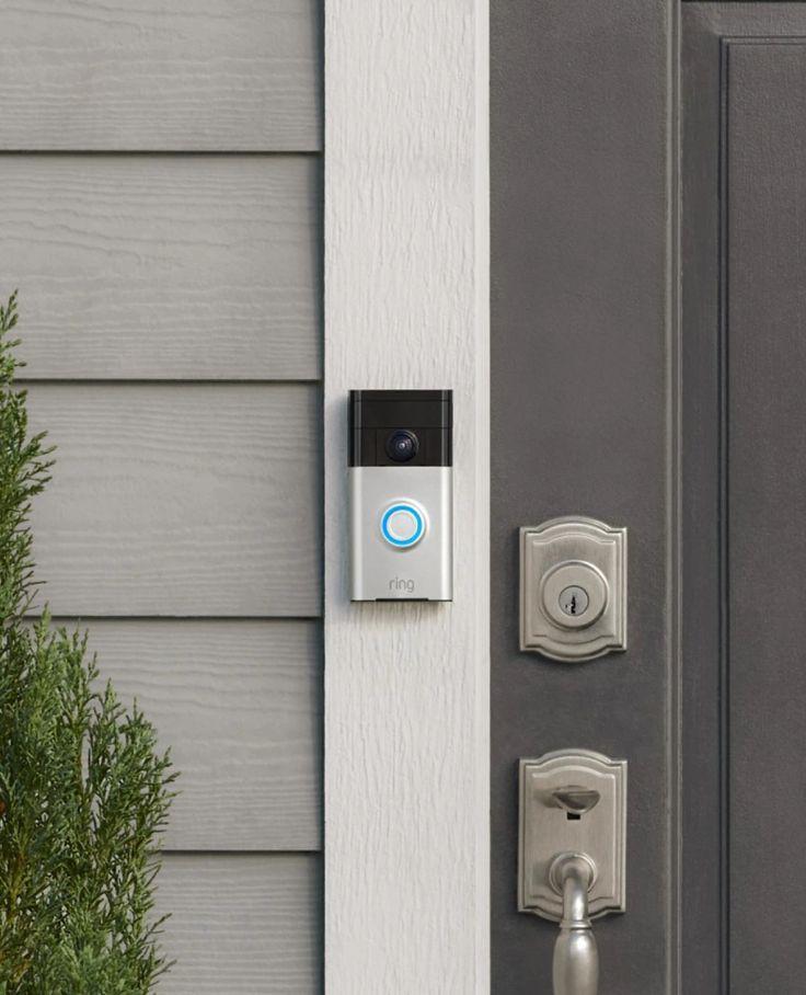 Ring doorbell security