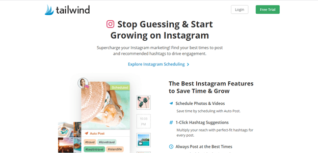 Post Instagram posts From Any Website with Tailwind