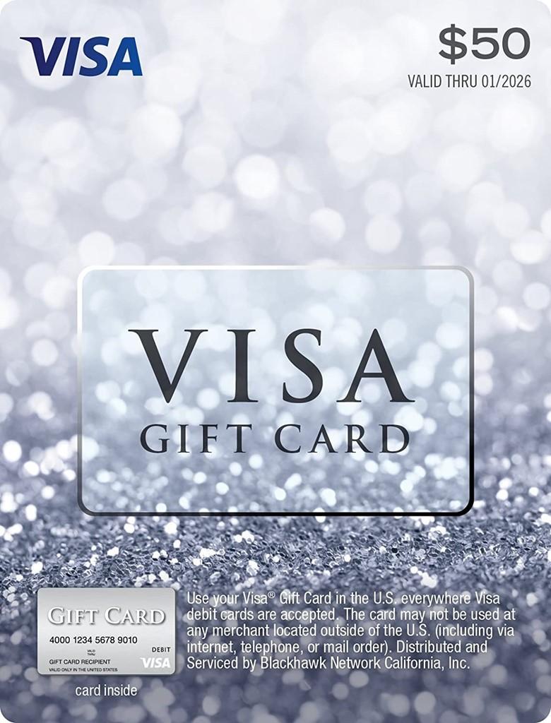 Buy Visa Gift Card form Amazon