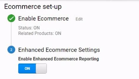 Enable Google Analytics on woocommerce