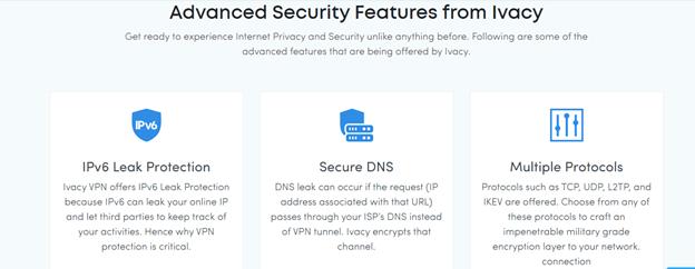 Ivacy VPN security
