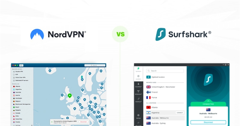 Surfshark-VS-NordVPN-comparison