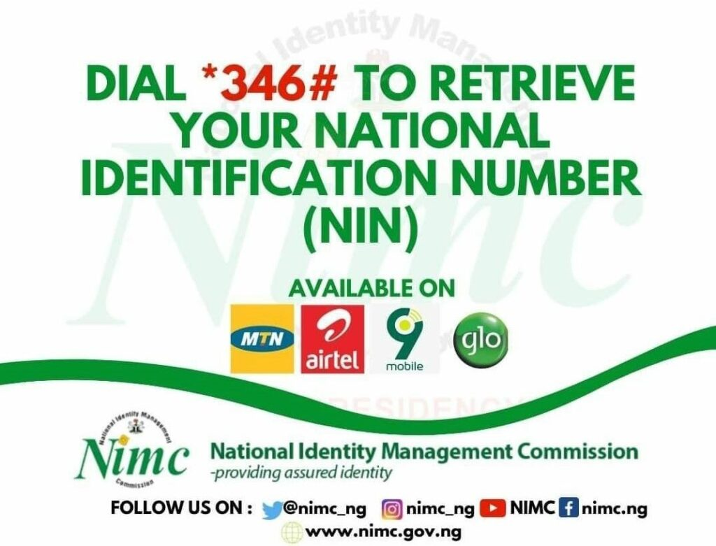 How To Retrieve Your National Identification Number MIMC