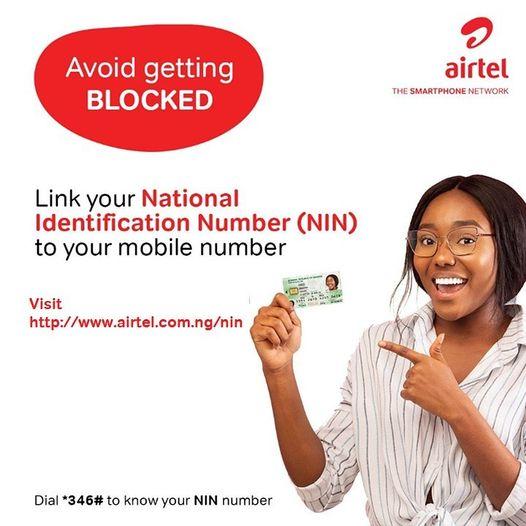 Link Airtel Number to NIN Using Airtel Website