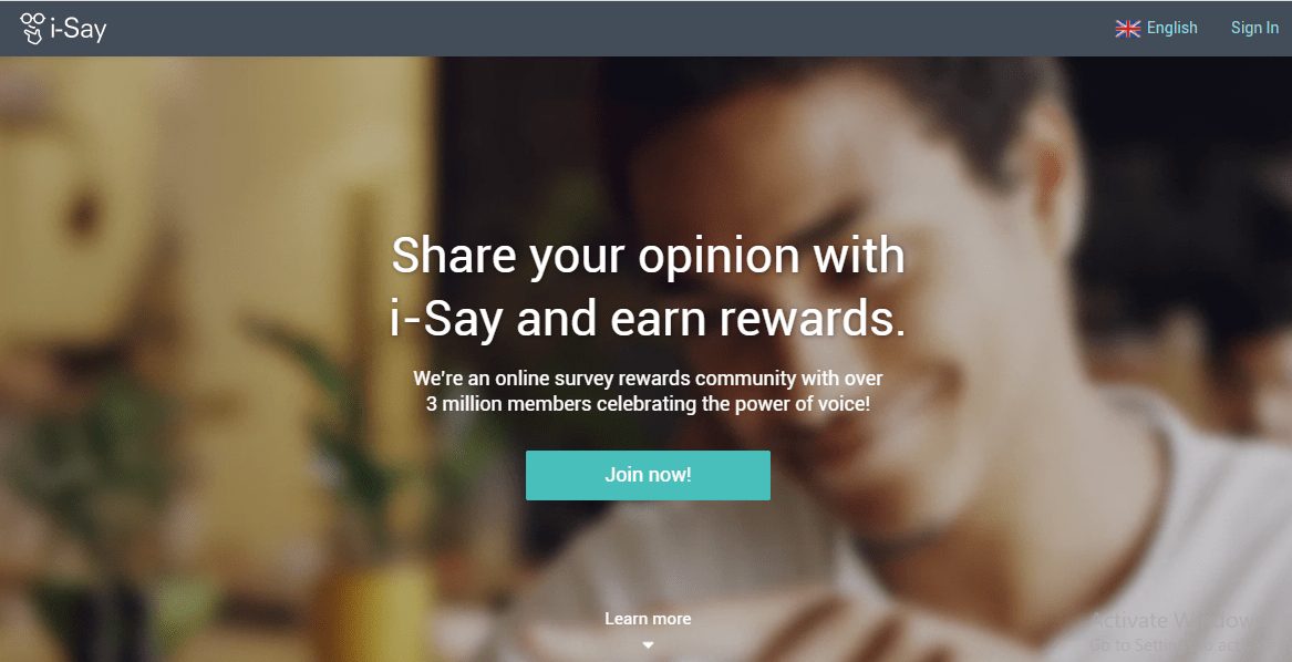 IPSOS I Say to earn gift cards