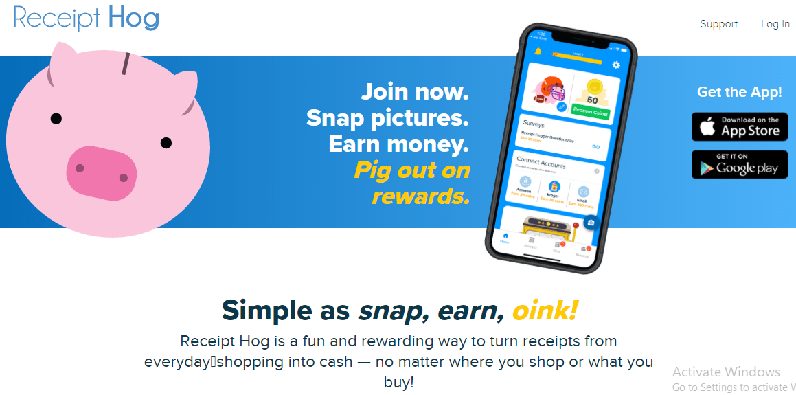 Earn Amazon Gift Card with Receipt hog