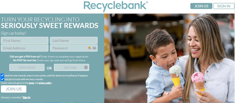 Earn Amazon Gift with RecycleBANK