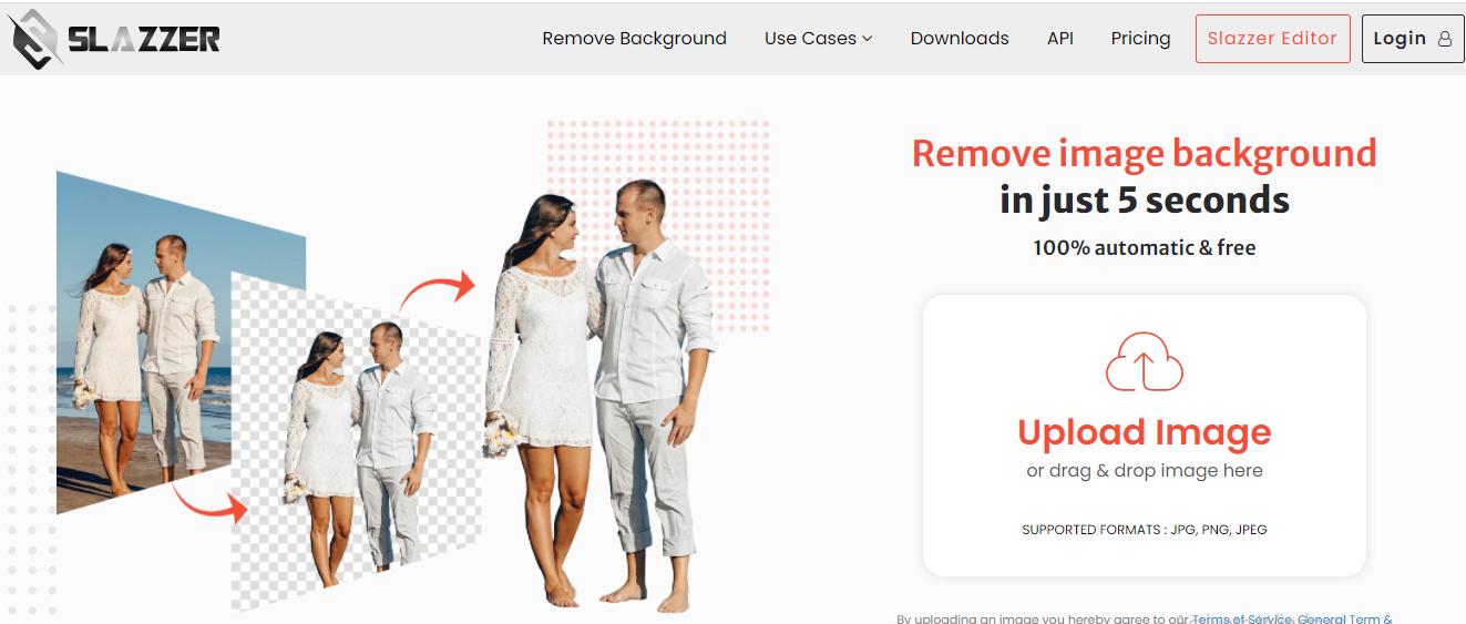 Slazzer Background Image Removal
