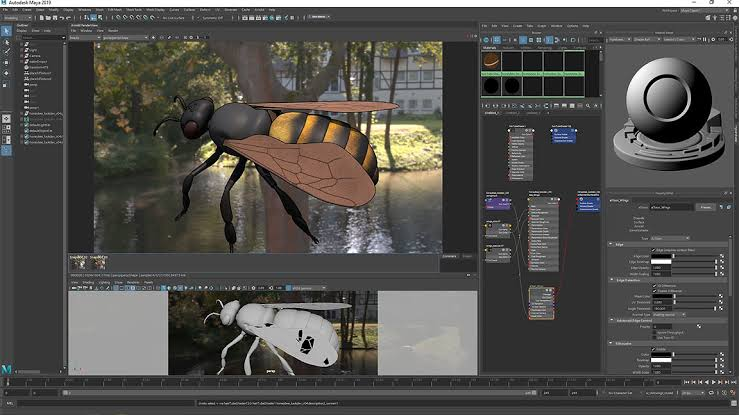AUTODESK MAYA Best Animation Software