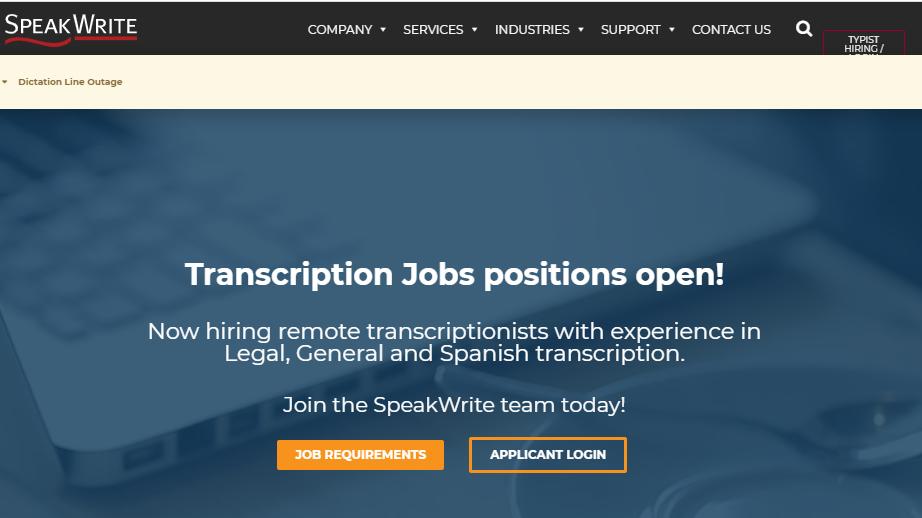 Speak Write Rev Transcription Alternatives