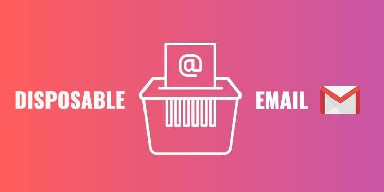 Dispostable email address